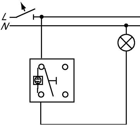 lichtschalter im ausgeschalteten zustnad leuchten lassen recht haushalt elektrik. Black Bedroom Furniture Sets. Home Design Ideas