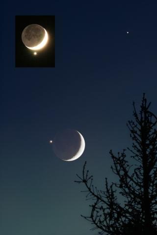 Venus Dezember 2008 - (Astronomie, Sterne, Himmel)