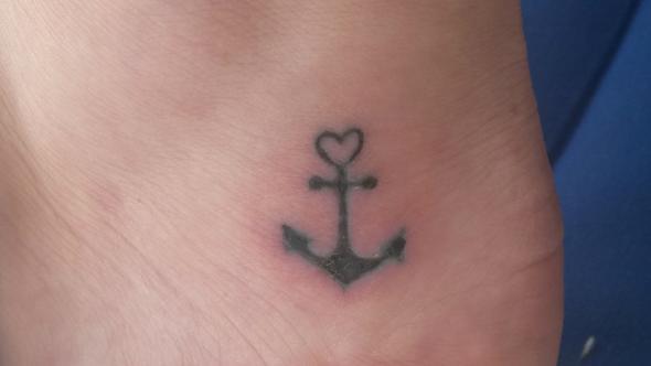 nach 1 woche - (Tattoo, Heilung)