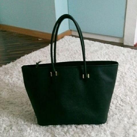 H&M Tasche - (schwarz, Tasche, groß)