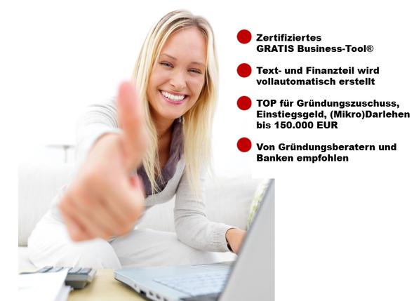 Kostenloser Businessplan für alle Geschäftsideen - (Computer, Internet, Zeit)