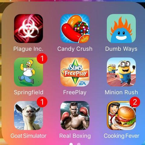 Spiele oder  - (Handy, iPhone, Apps)