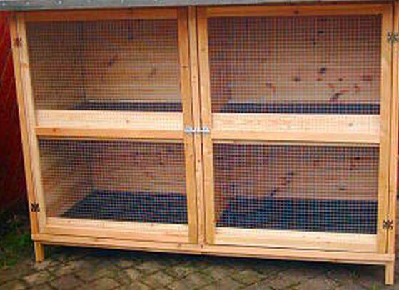 Kaninchenstall - (Kaninchen, Holz, Stall)
