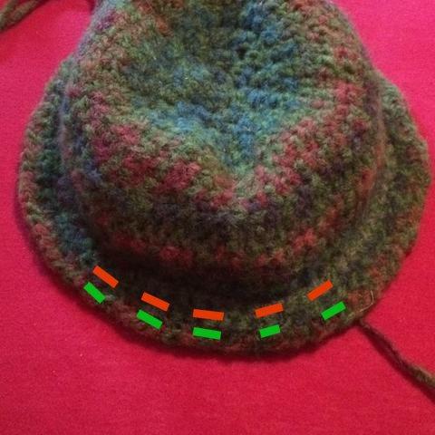 Draht - durchgefädelt , Geiler Hut !!! - (Handarbeit, häkeln, Hut)
