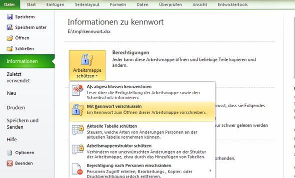 Hilfe! Kennwort aus Excel Arbeitsmappe löschen? (Computer)