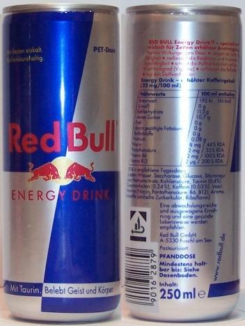Red Bull PET-Dose - (Allgemeinwissen, Red Bull, Dose)
