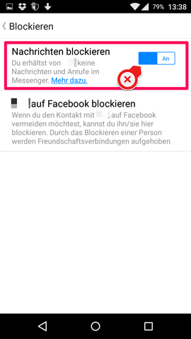 Nachrichten ignorieren aufheben facebook messenger Facebook Messenger