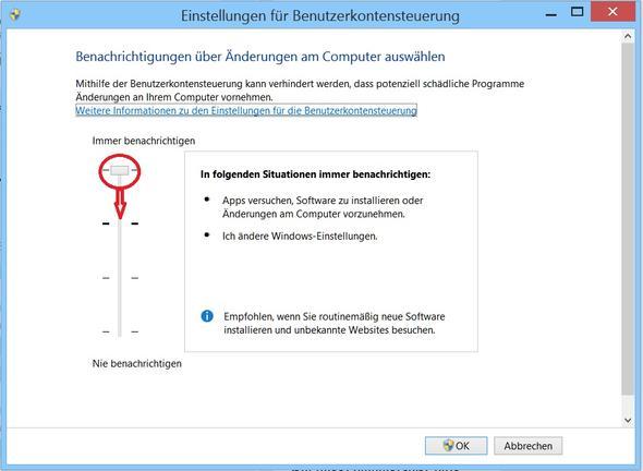 Bentzerkontensteuerung - (Computer, Windows, Windows 7)