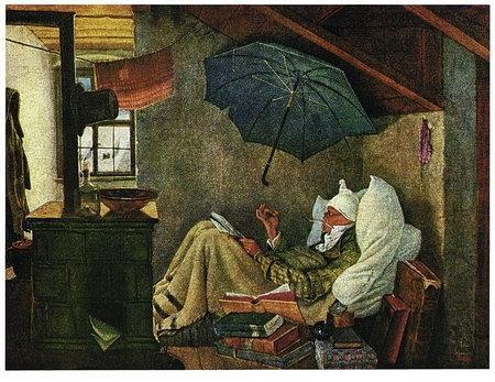 wie hei t das ber hmte gem lde in dem ein kranker in seinem bett auf dem dachboden zu sehen ist. Black Bedroom Furniture Sets. Home Design Ideas
