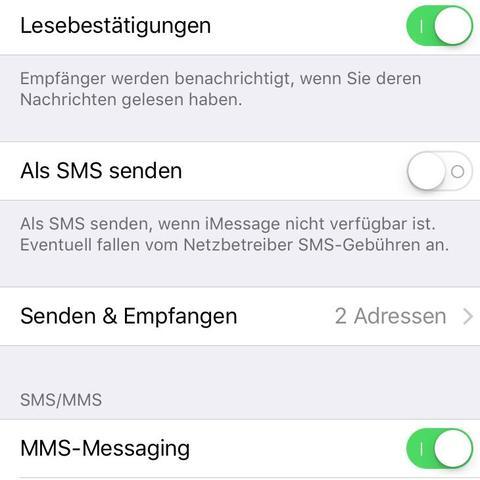 iMessage  - (Internet, Handy, iPhone)