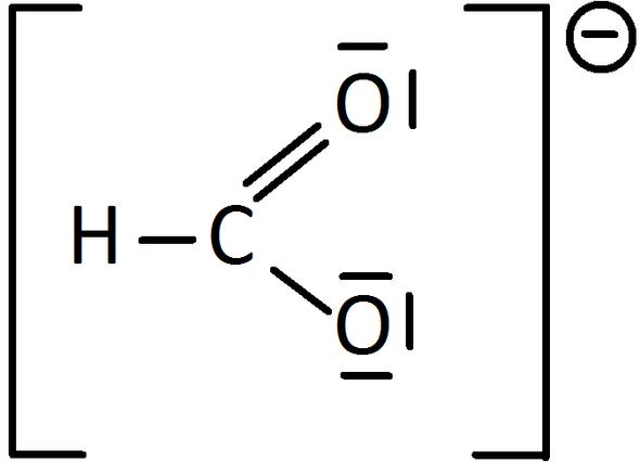 Formiat-Ion - (Schule, Mädchen, Chemie)