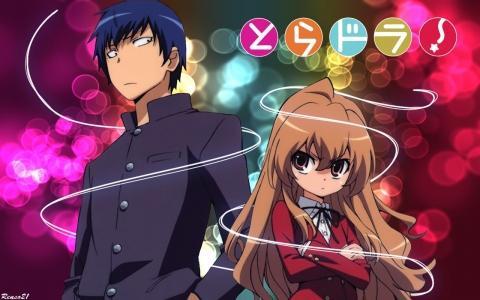 Toradora - (Anime, Comedy, romance)
