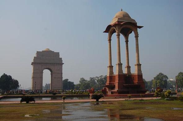 India Gate - (Indien, Mumbai, Neu-delhi)