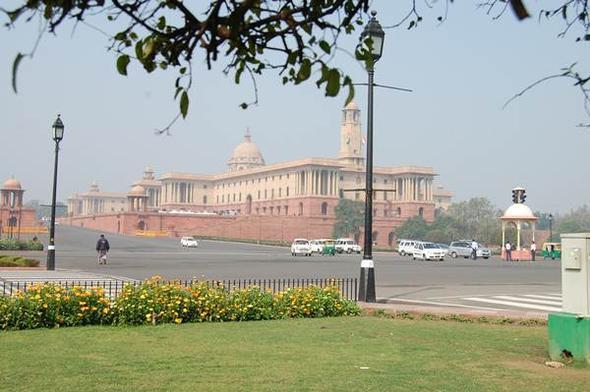 Regierungsgebäude - (Indien, Mumbai, Neu-delhi)