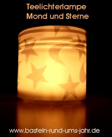 Teelichterlampe von von www.basteln-rund-ums-jahr.de - (Geschenk, Eltern, Weihnachten)