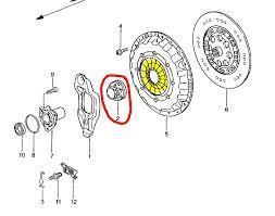 Ausrücklager  roter kreis  einbauort  - (Volkswagen, Getriebe, Kupplung)