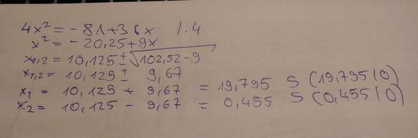 PQ-Formel - (Mathe, Mathematik, Gleichungen)