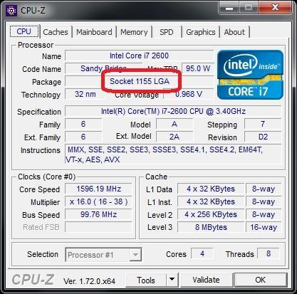 CPU-Z - (PC, Prozessor, Mainboard)