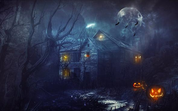 Happy Halloween! - (reiten, Gesellschaft, Zauberei)