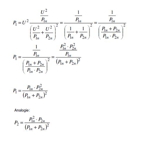 Leistungsberechnung - (Physik, Elektronik, Stromkreis)