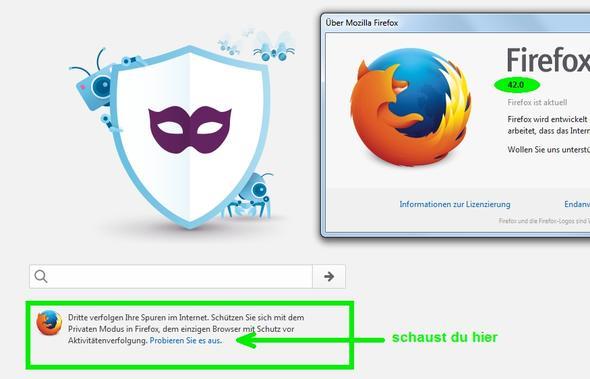 Startbildschirm Firefox v42 - (Firefox, Startbildschirm)