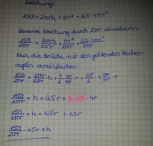 Die Rechnung - (Mathe, Rechnung)