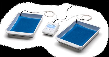 Modernes Therapieset zur Leitungswasser-Iontophorese - (Gesundheit, Körper, Therapie)