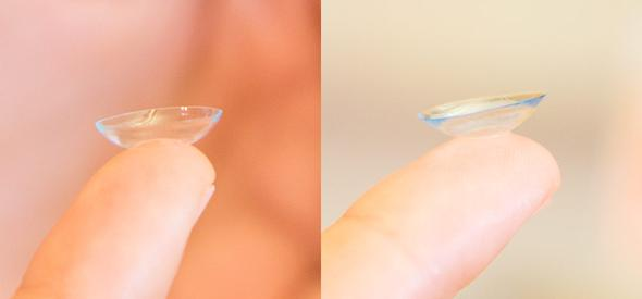 CL richtig herum einsetzen - (Kontaktlinsen)