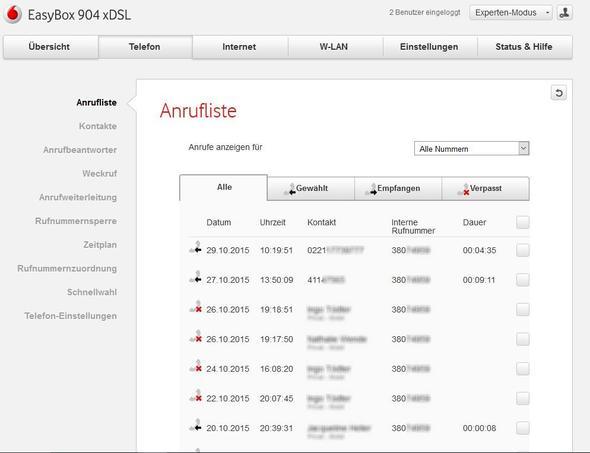904 xDSL - (Vodafone, Kabel Deutschland)