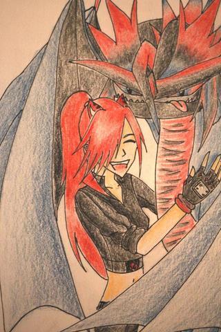 Eines Meiner Bilder^^ - (Kunst, zeichnen, malen)