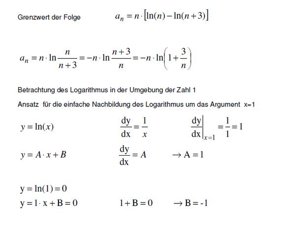 Grenzwertprozess 1 - (Mathe, Mathematik, Aufgabe)
