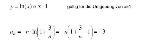 Grenzwertprozess 2 - (Mathe, Mathematik, Aufgabe)
