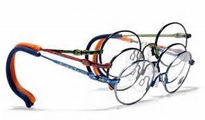 brille mit extra langem buegel - (Kinder, Fußball, Brille)