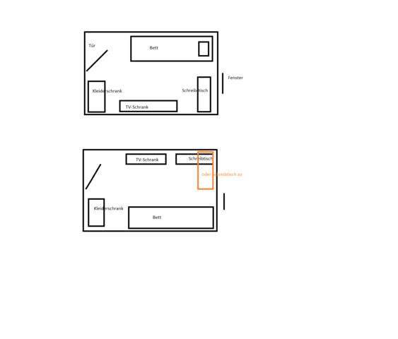 wie kann ich die m bel stellen wohnung zimmer. Black Bedroom Furniture Sets. Home Design Ideas