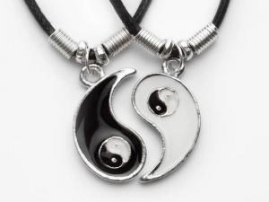 Yin Yang Kette! - (Freundin, Geschenk, Geburtstag)