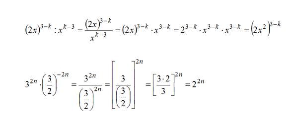 Negative Exponenten - (Mathe, Mathematik, Naturwissenschaft)