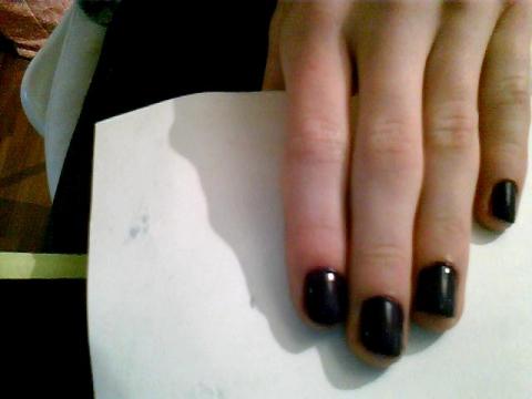 nagellack mit wasserfarben und klarlack beauty farbe. Black Bedroom Furniture Sets. Home Design Ideas