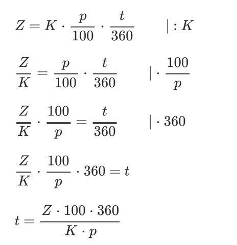 - (Mathe, Zinsen, Zinsrechnung)