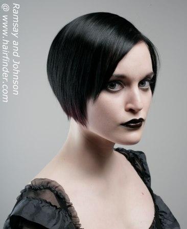 gothic frisuren weiblich kurz festliche frisuren. Black Bedroom Furniture Sets. Home Design Ideas