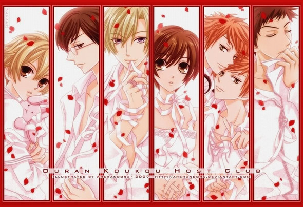 Ouran Highschool Host Club - (Anime, akatsuki no yona)