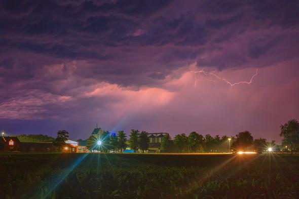 Gewitter über Dannenberg (Langzeitbel.), Kamera: EOS6D / EF16-35mm f/2.8L II USM - (iPhone, Kamera, Umfrage)
