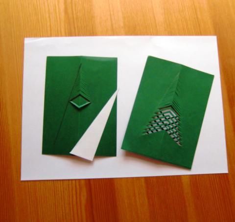Weihnachtskarten selberbasteln wer hat eine sch ne idee for Anleitung weihnachtskarten