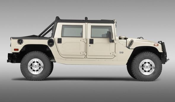 Hummer HMMWV white - (Musik, Auto, Motor)