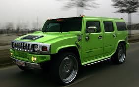 Hummer grün - (Musik, Auto, Motor)