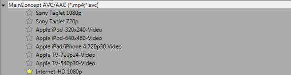 Da sieht man es nochmal - (Video, Sony, rendern)