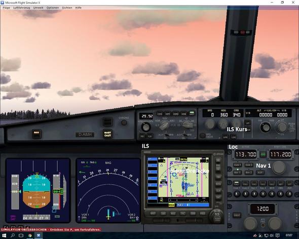 ILS Anflüge im FSX - (fsx, ILS, landung)