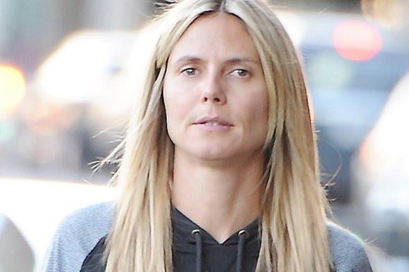 Heidi Klum ungeschminkt - (Aussehen, Schönheit, Allgemeinwissen)