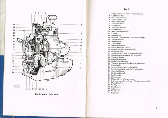 Steyr T 180 - (frostschutz, Zylinderkopf Reparatur, Wasser-Ablasshahn)