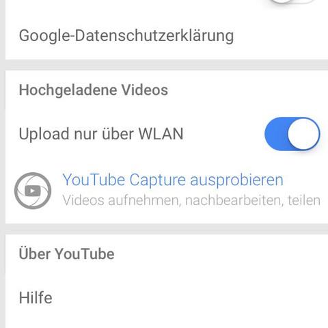 Schalter umlegen. - (Youtube, hochladen)