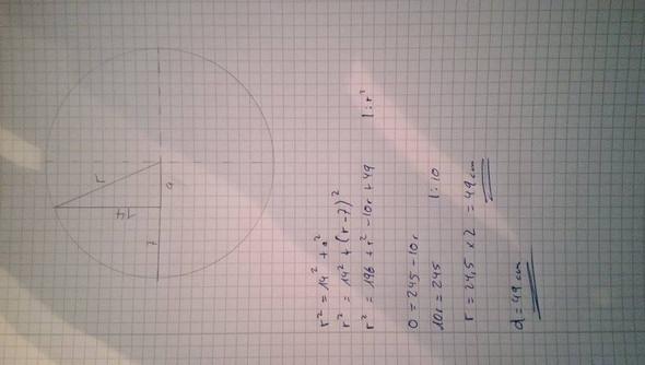 - (Mathe, kompliziert, Pythagoras)